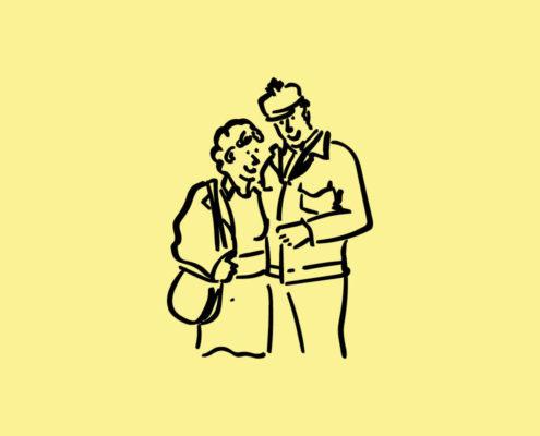 Afbeelding bij Vrouw van Gastarbeider